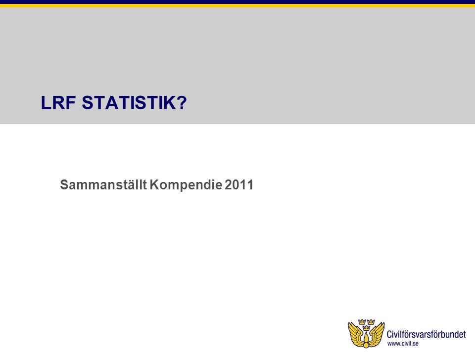 LRF STATISTIK? Sammanställt Kompendie 2011