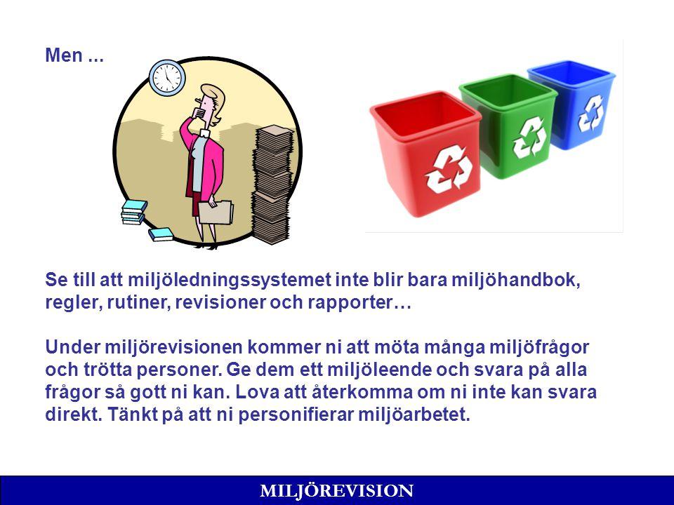 MILJÖREVISION Men...