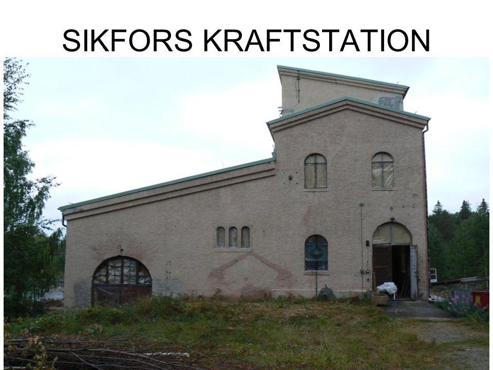 SIKFORS KRAFTSTATION