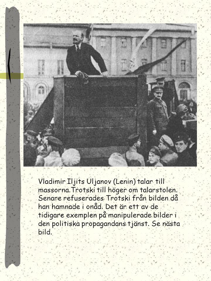 Den unge Stalin Stalin och Lenin Efter sitt maktövertagande eliminerade Stalin all opposition Stalin som stormaktsledare Stalindyrkan fick enorm omfat