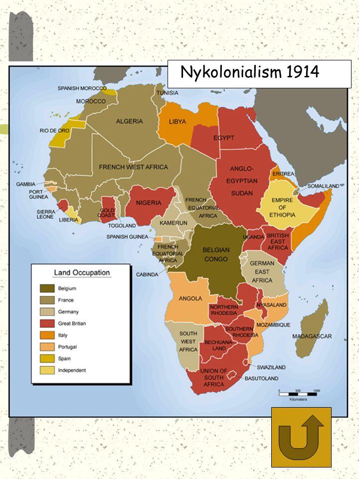 IMPERIALISM Imperialism (nykolonialism) efterfrågan på produkter ökade med industrialiseringen investeringar i kolonier gjordes för att öka produktion