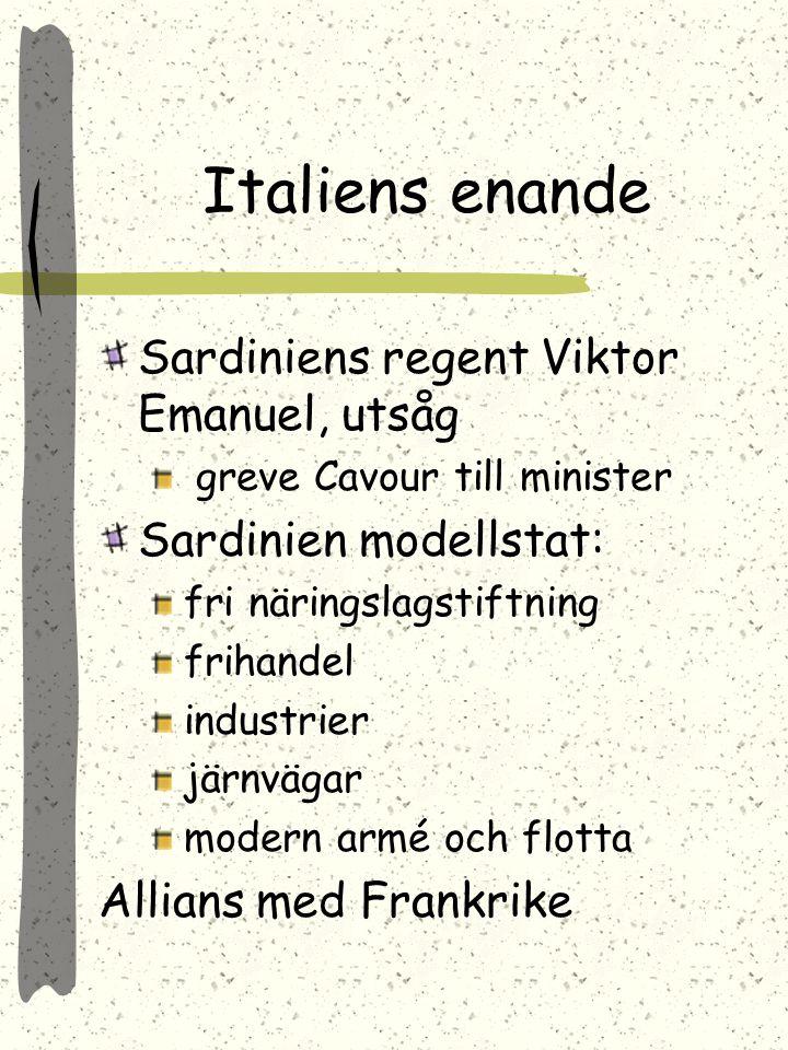 S-H till P. Venetien till Italien P. fick rätt att organisera ett nordtyskt förbund Fas III 1870-71 Krig P. F. = Wilhelm tysk kejsare Paris belägrat f