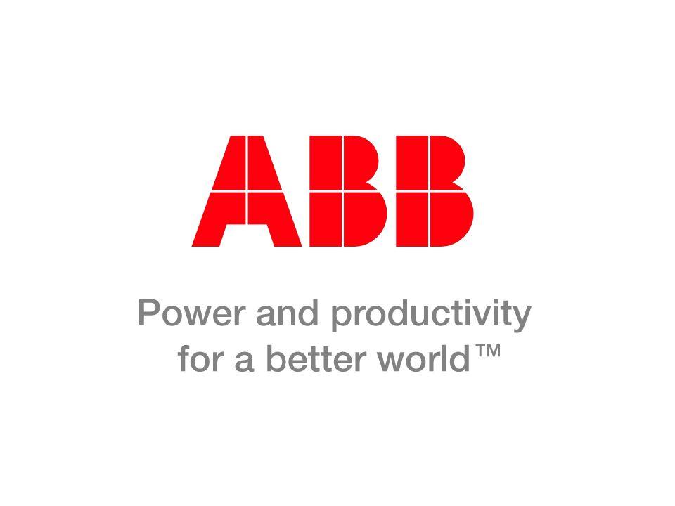 © ABB Group November 23, 2014 | Slide 62