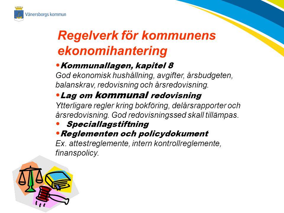 2014-11-23 Regelverk för kommunens ekonomihantering Kommunallagen, kapitel 8 God ekonomisk hushållning, avgifter, årsbudgeten, balanskrav, redovisning