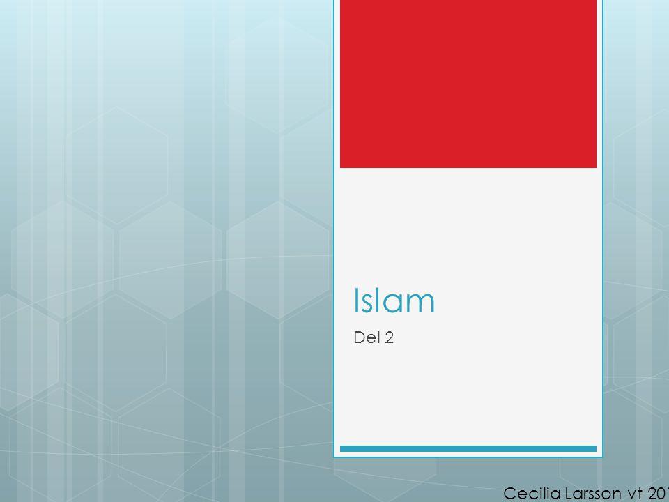 Islam Del 2 Cecilia Larsson vt 2014