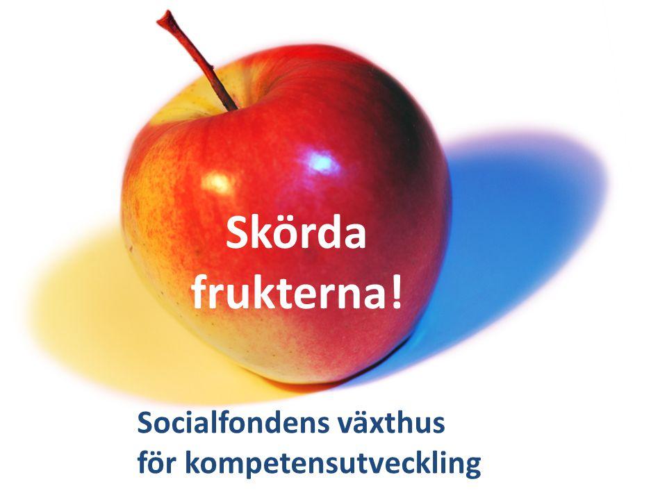 Skörda frukterna! Socialfondens växthus för kompetensutveckling