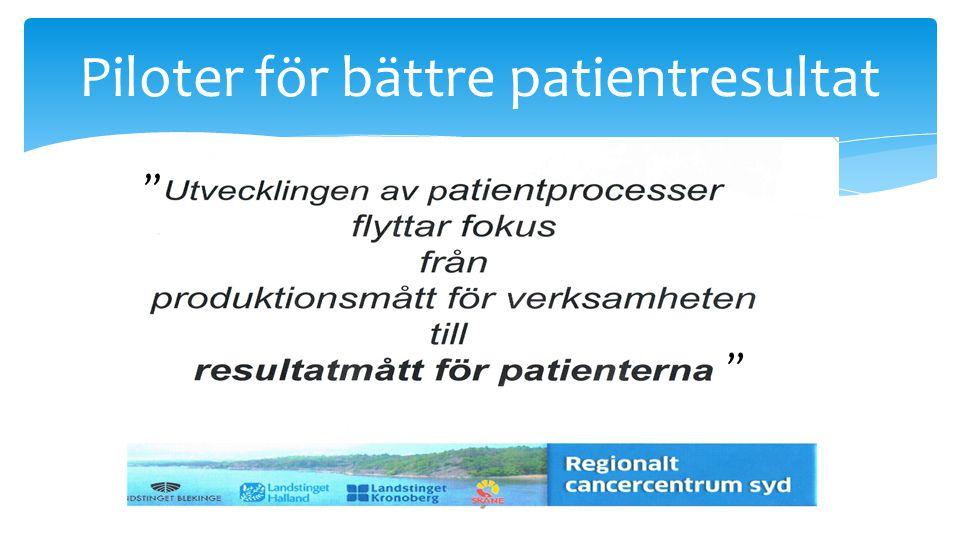 16 Piloter för bättre patientresultat