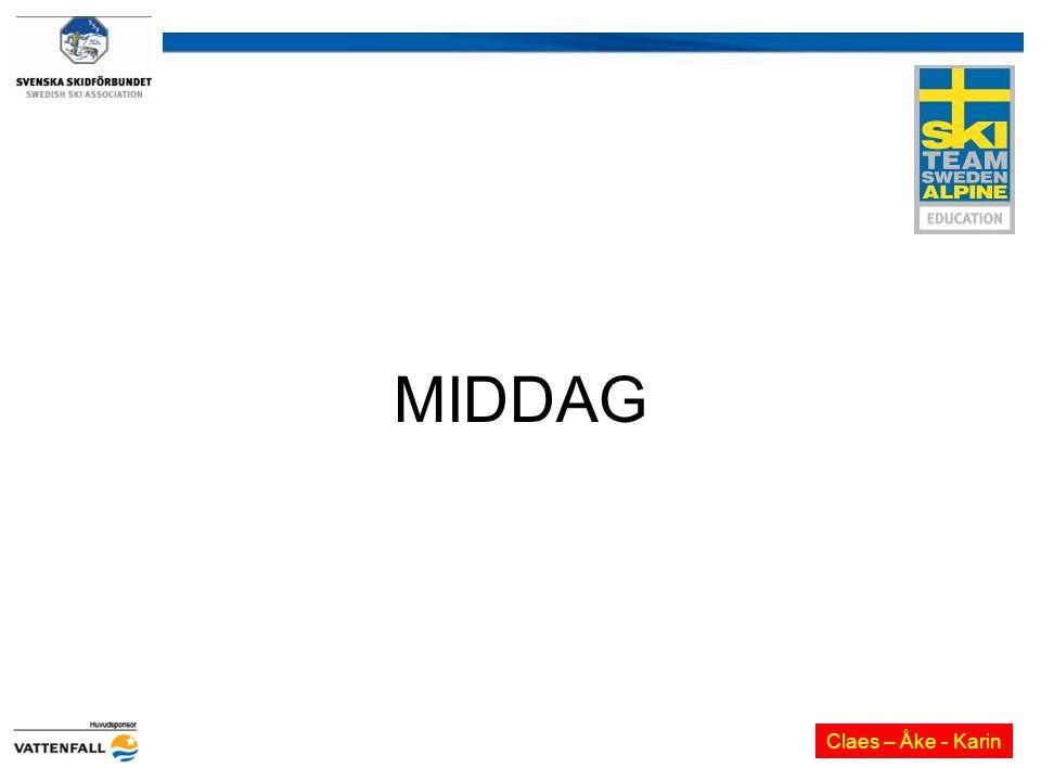 MIDDAG Claes – Åke - Karin