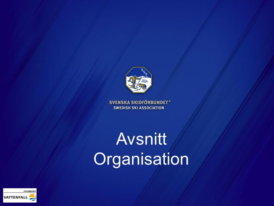 Avsnitt Organisation