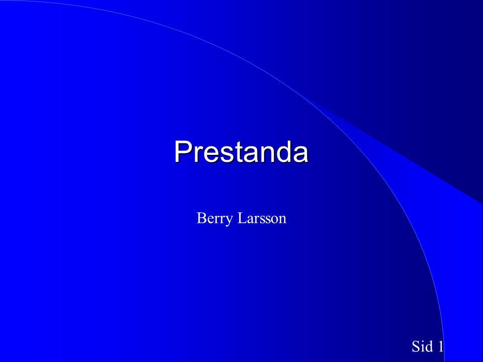 Sid 1 Prestanda Berry Larsson