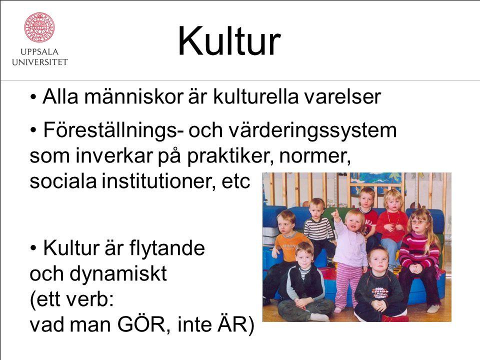Vid en vårdcentral på Rosengård, Malmö Av 177 tolksamtal 75% anhöriga25% auktoriserad 9% <20 år Rapport 99:4 Primärvårdens utvecklingsenhet, Region Skåne