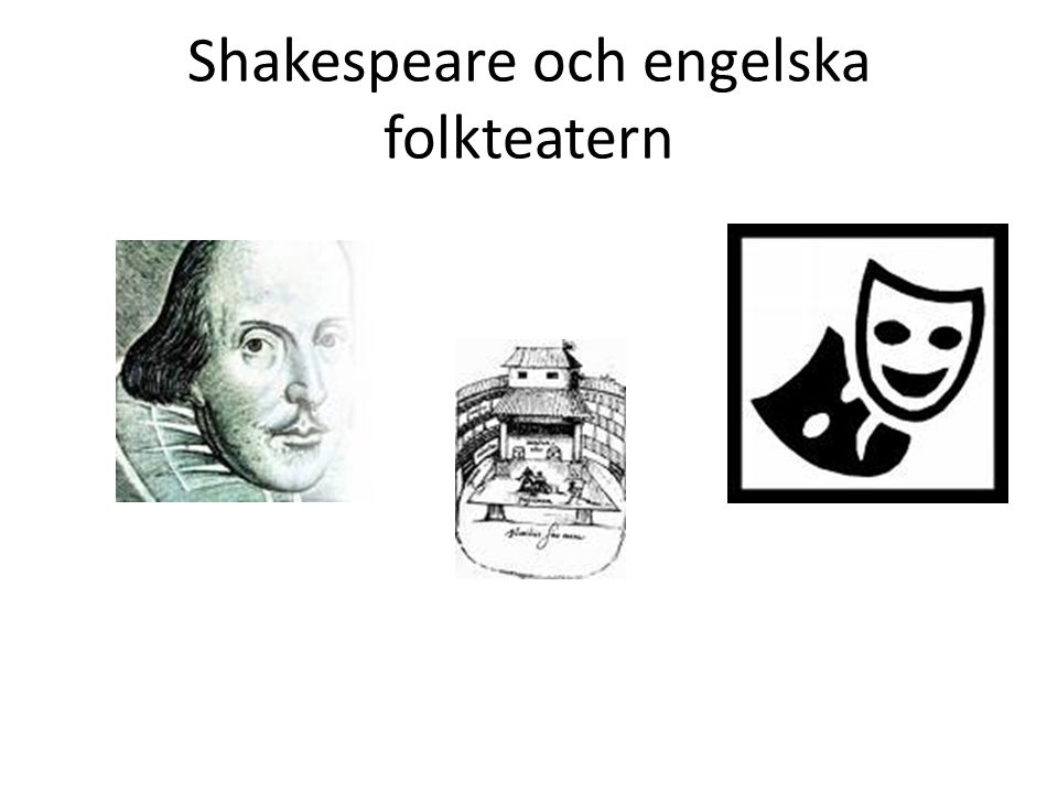 Shakespeare och engelska folkteatern