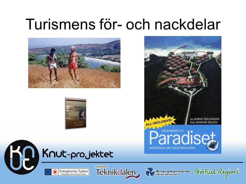 Turismens för- och nackdelar