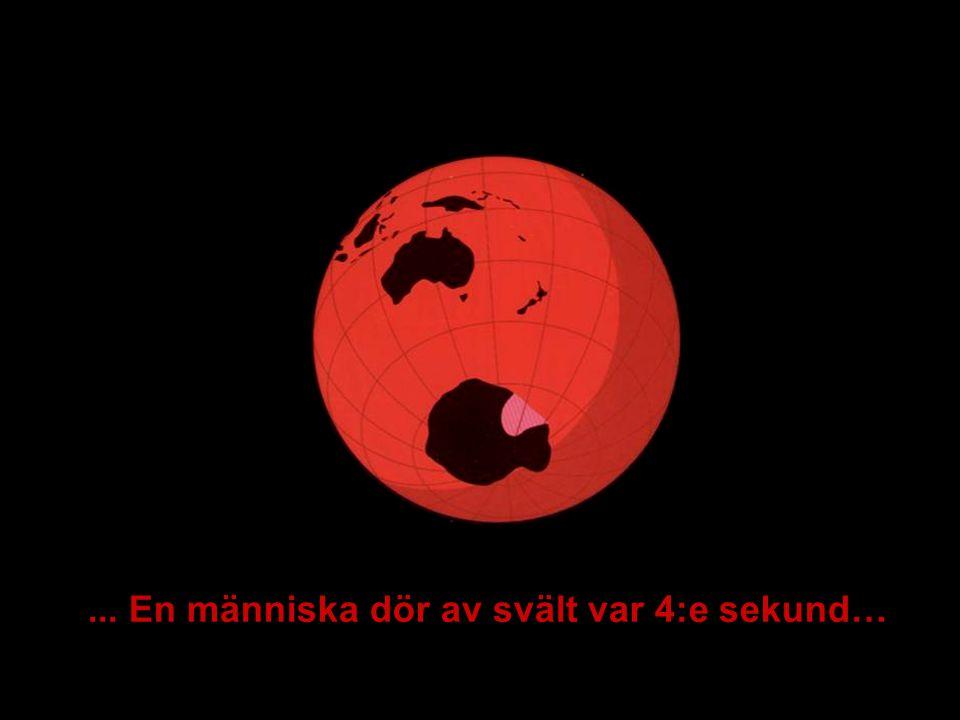 MEDVERKAN AV ALLMÄNHETEN www.transportlearning.net... En människa dör av svält var 4:e sekund…