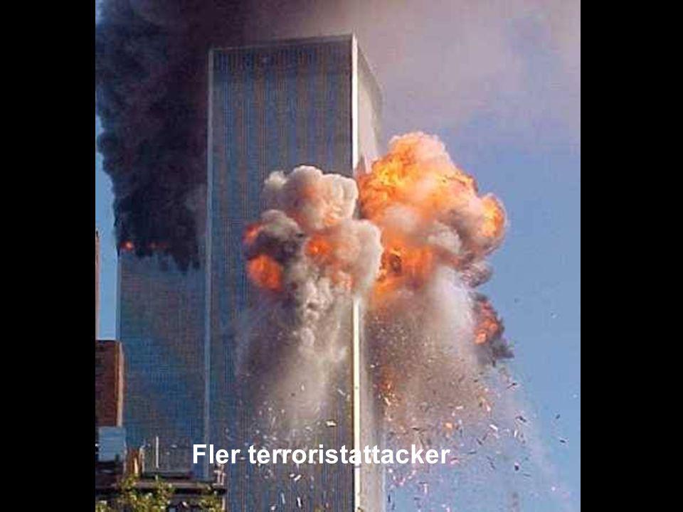 MEDVERKAN AV ALLMÄNHETEN www.transportlearning.net Fler terroristattacker
