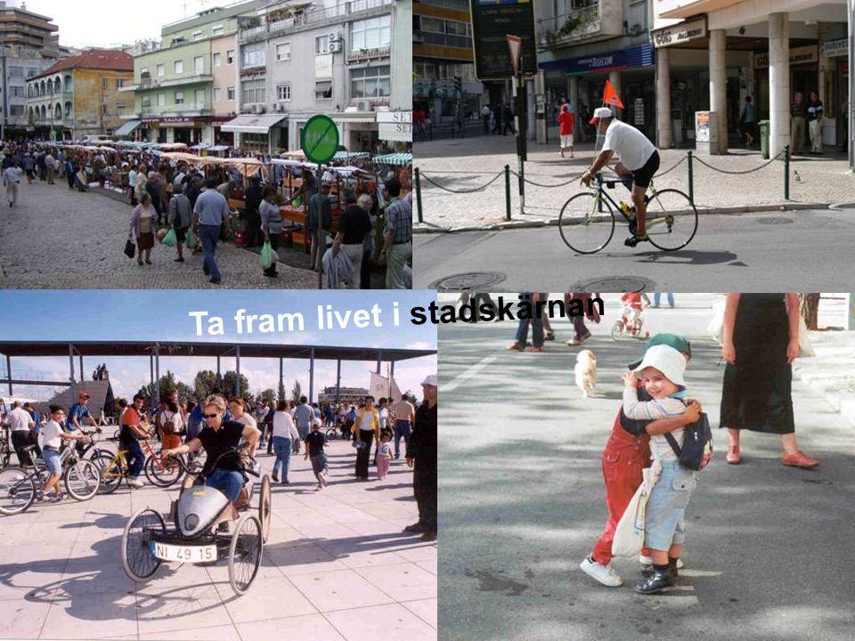MEDVERKAN AV ALLMÄNHETEN www.transportlearning.net Ta fram livet i stadskärnan
