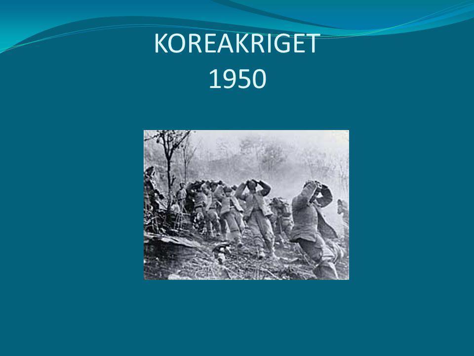 KOREAKRIGET 1950