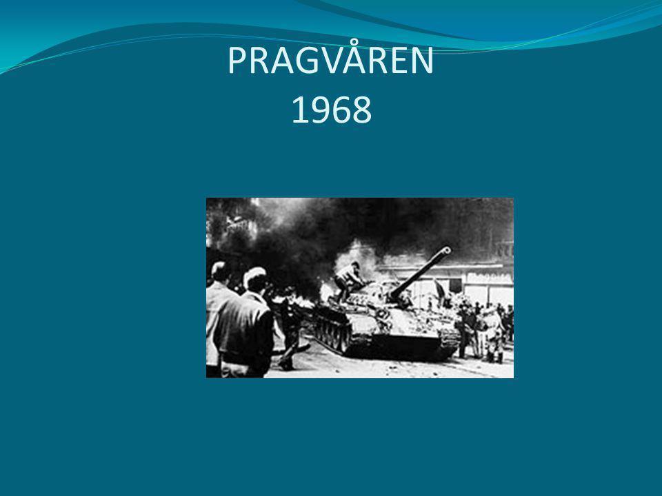 PRAGVÅREN 1968