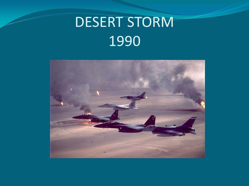 DESERT STORM 1990
