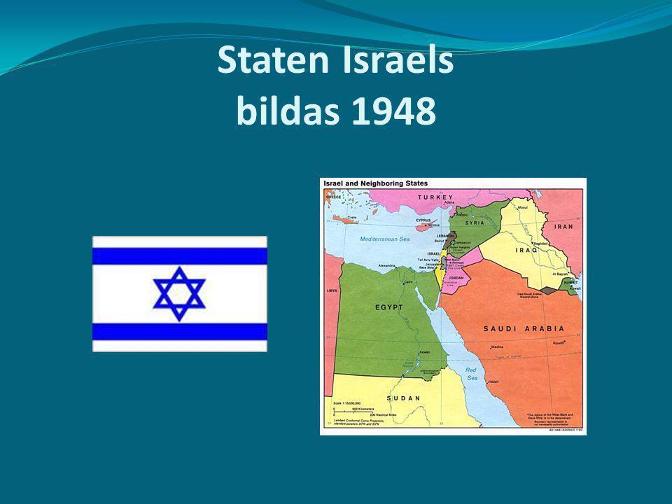 Staten Israels bildas 1948
