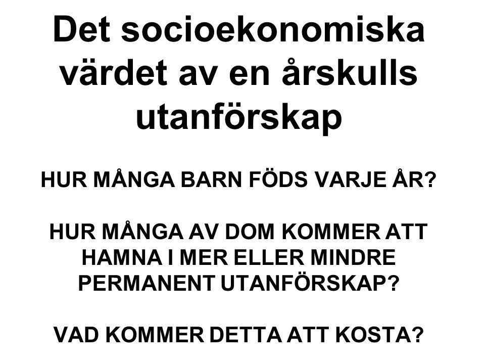 ATT FÅ DET ATT FUNGERA PÅ INDIVIDNIVÅ