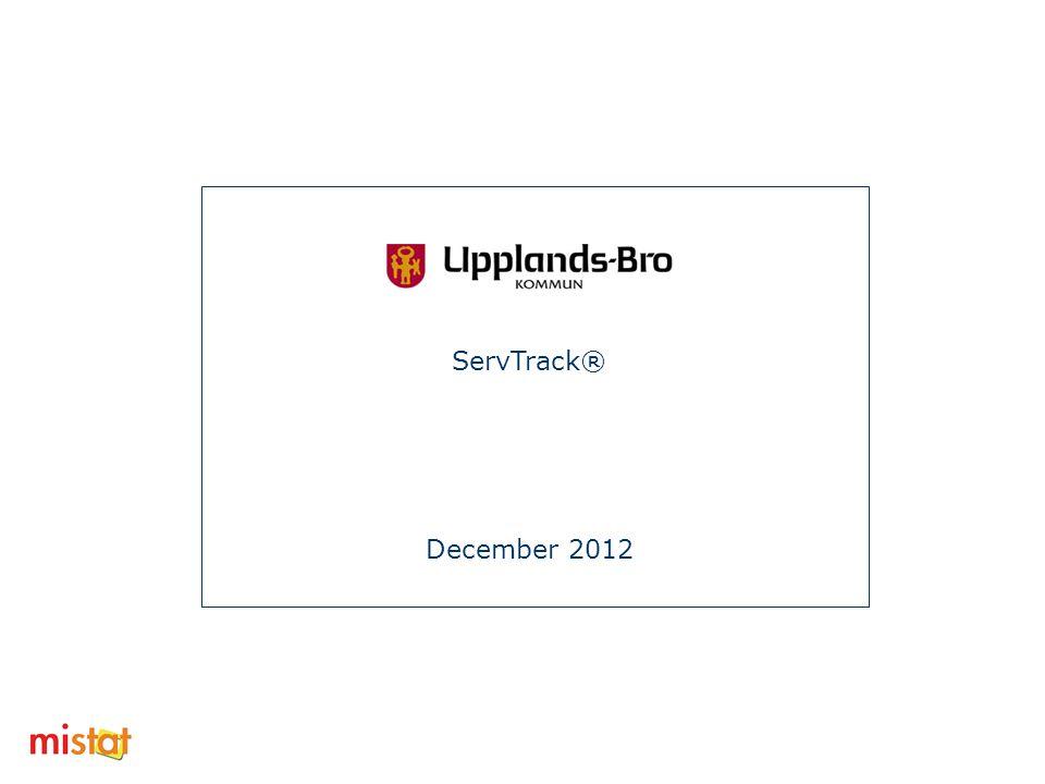 ServTrack® December 2012