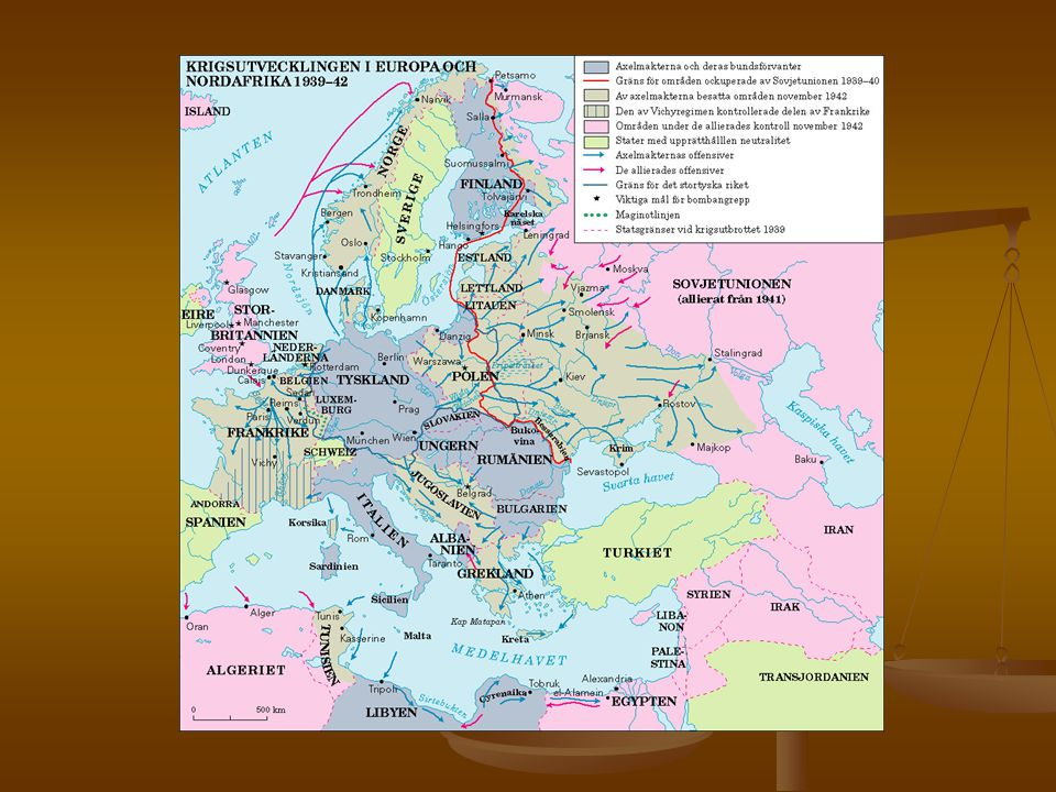 Konsekvenser Nästan så fort kriget hade tagit slut startade det Kalla kriget .