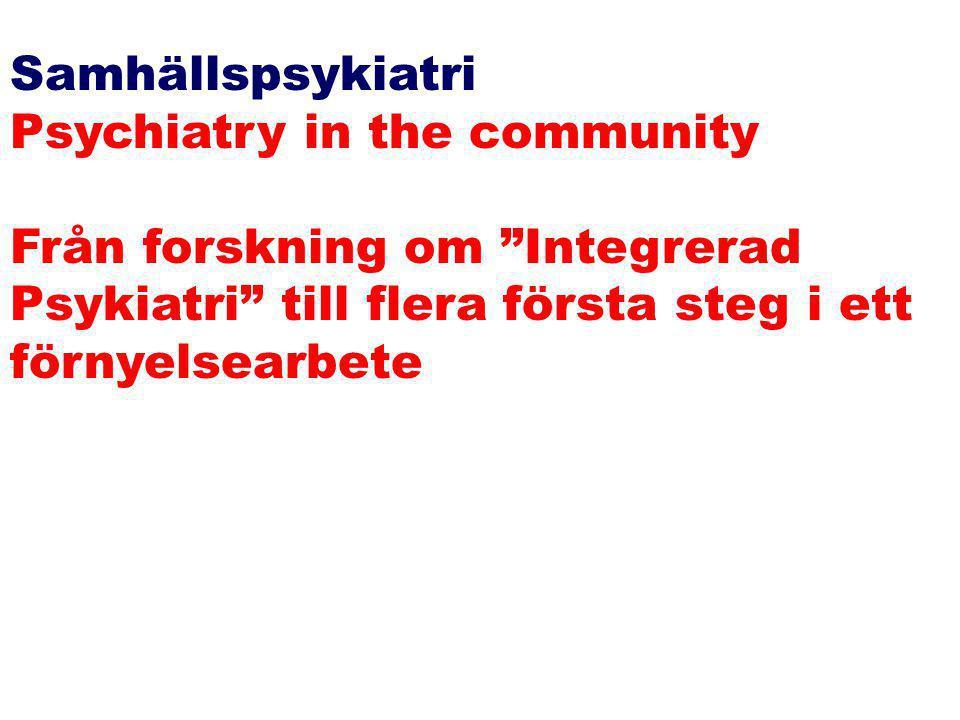 Elektronisk drivbänk Hot Bed Saloon Network www.studentlitteratur.se/casemanagement Evidensbaserad Integrerad Psykiatri Gå med i vårt CaseManagement-n