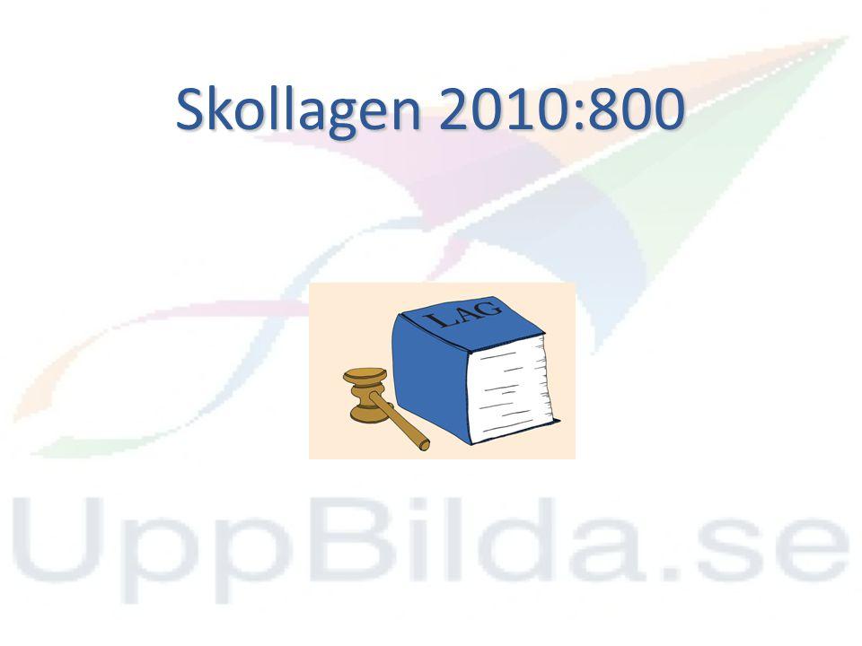 Skollagen 2011 6 kap.