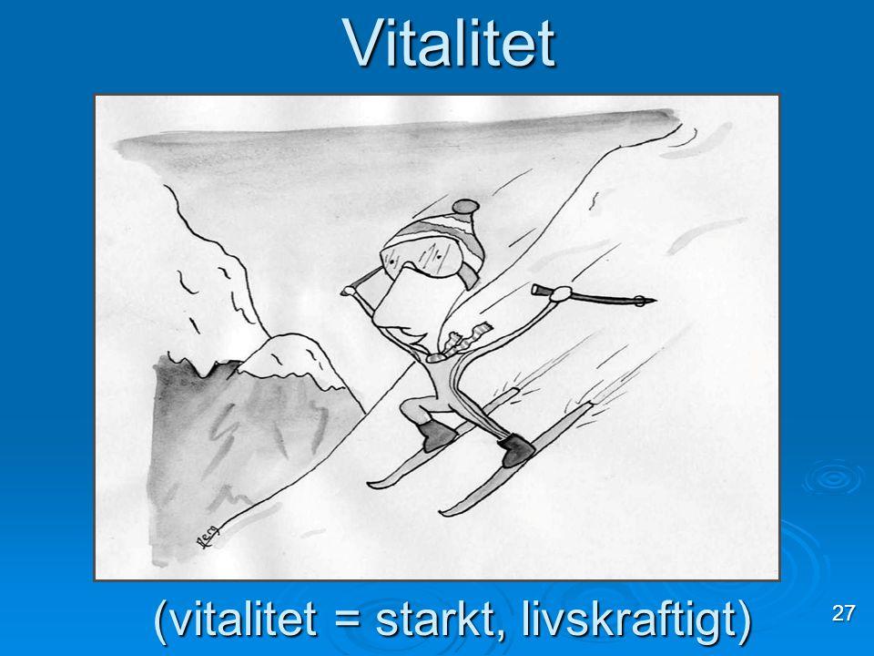 Vitalitet 27