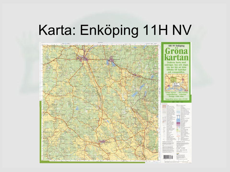 Karta: Enköping 11H NV