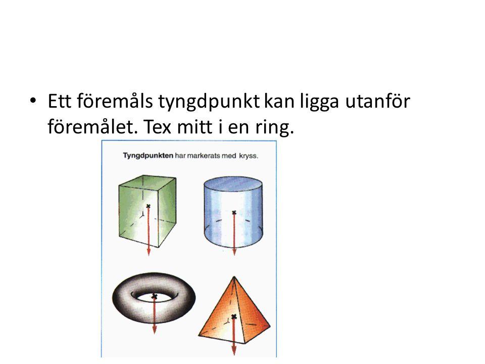 Olika krafter 1.Dragningskraft 2. Motkraft, underlagets kraft mot föremålet 3.