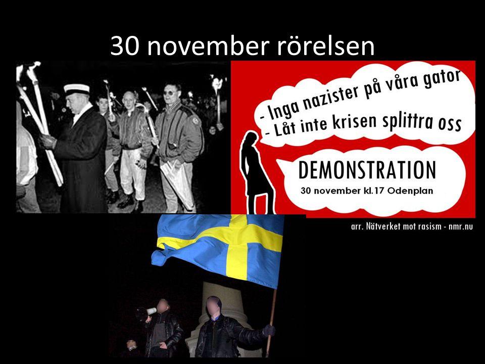 30 november rörelsen