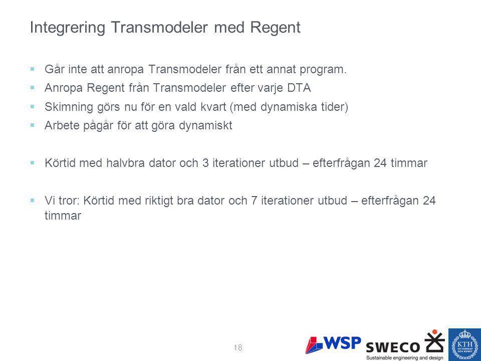 Integrering Transmodeler med Regent  Går inte att anropa Transmodeler från ett annat program.