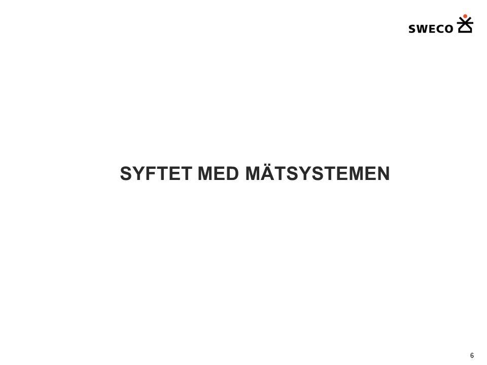 SYFTET MED MÄTSYSTEMEN 6