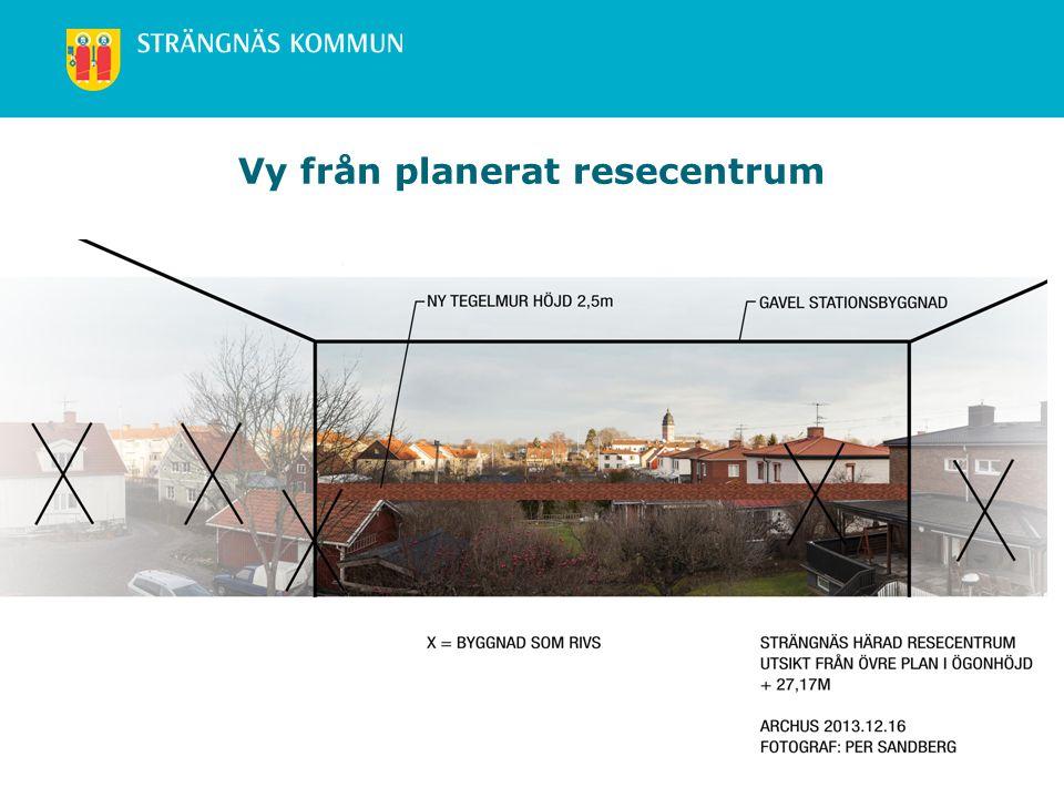 www.strangnas.se Vy från planerat resecentrum