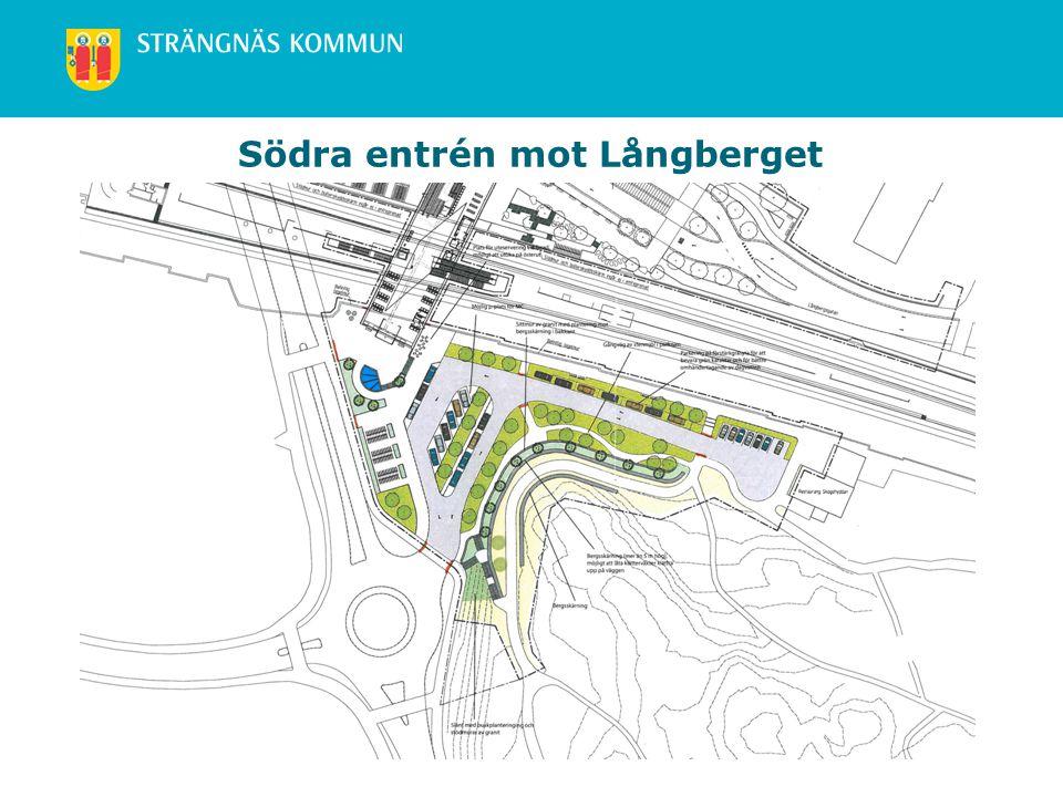 www.strangnas.se Södra entrén mot Långberget
