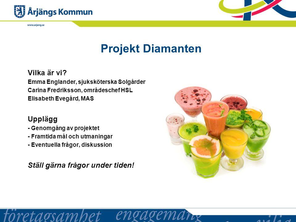 Projekt Diamanten Vilka är vi.