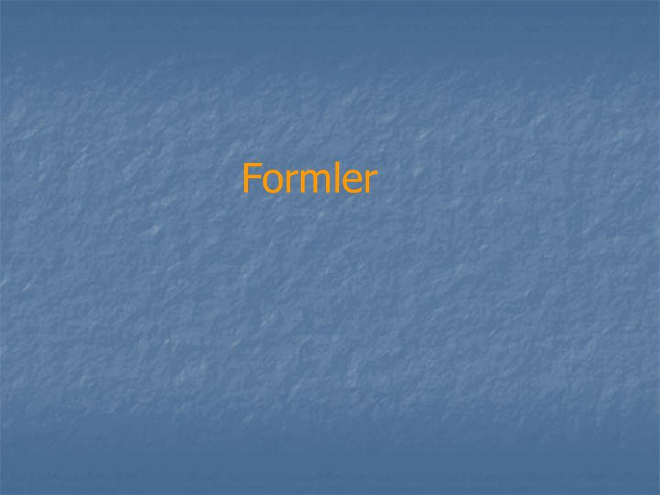 Formler