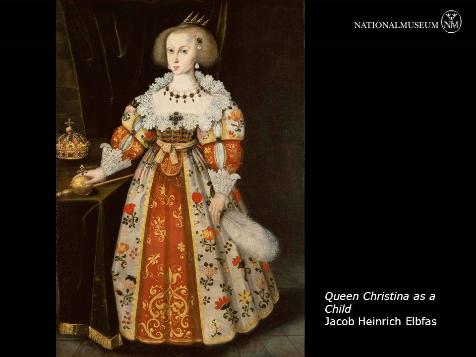 Queen Christina as a Child Jacob Heinrich Elbfas