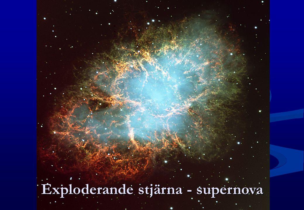 Exploderande stjärna - supernova
