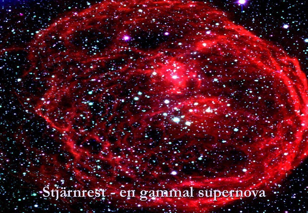 Stjärnrest - en gammal supernova