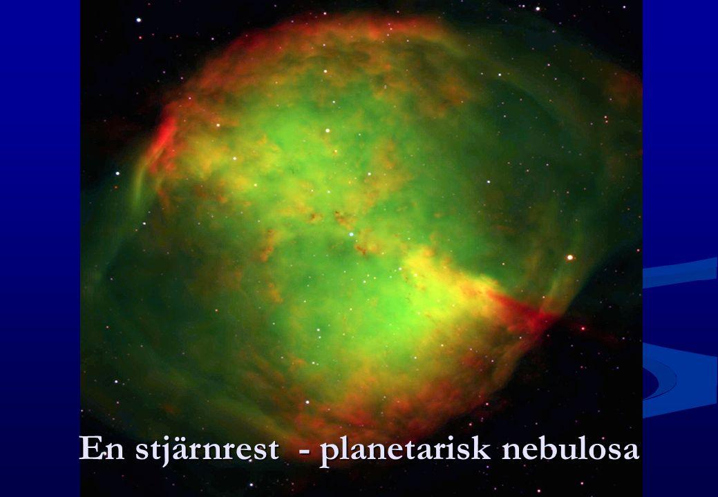 En stjärnrest - planetarisk nebulosa
