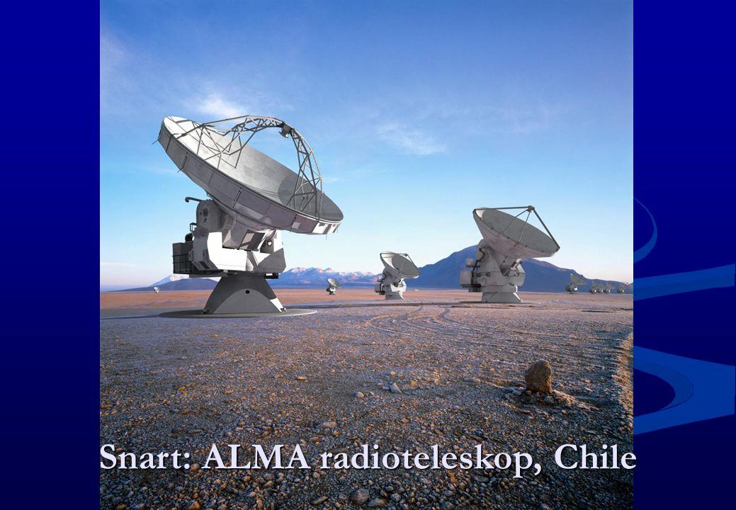 Snart: ALMA radioteleskop, Chile