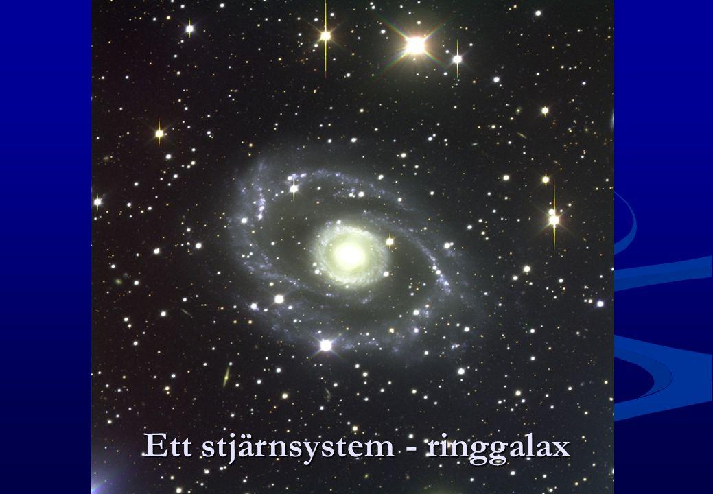 Ett stjärnsystem - ringgalax