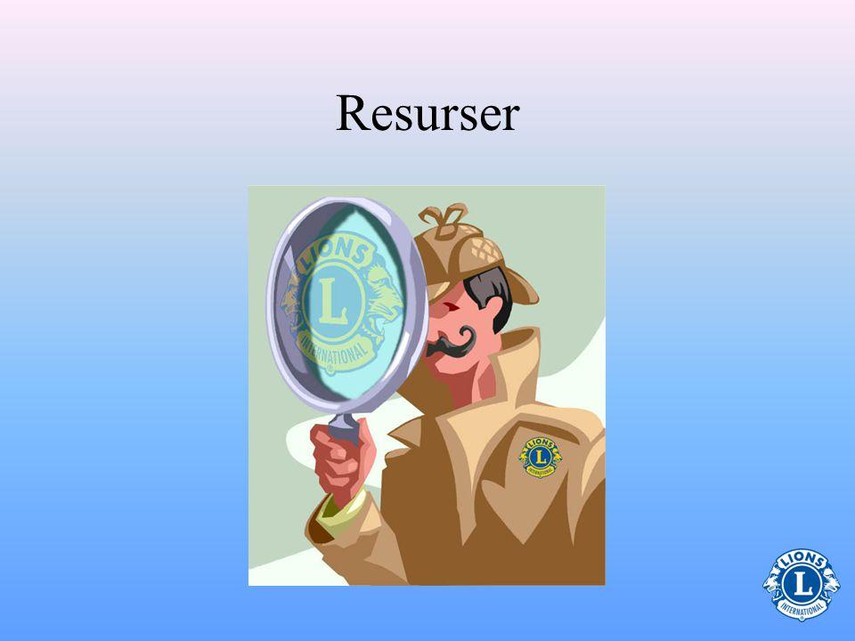 Kassörens roll (Gällande ledarskap) Använd tidigare erfarenhet och tillgängliga resurser för att kunna utöva ledarskapet på bästa sätt –Ledarskapskursen i Lions utbildningscenter på webbplatsen kommer att hjälpa dig att förbättra dina ledaregenskaper.Ledarskapskursen –Föregå med gott exempel Följ Lions etik (Finns på webbplatsen)Följ Lions etik