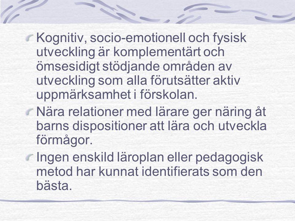 - läraren att rikta barns uppmärksamhet mot … (det som vi vill att de skall utveckla en förståelse för)