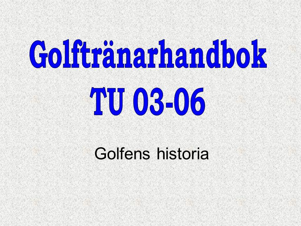 Golfens historia