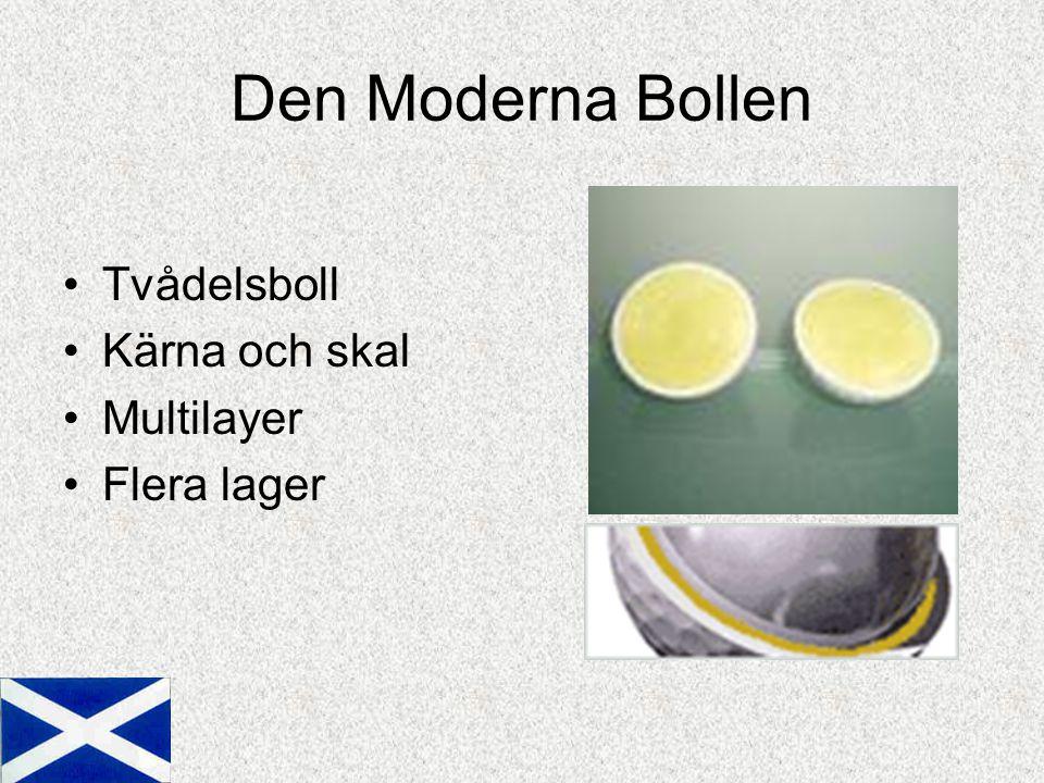Den Moderna Bollen Tvådelsboll Kärna och skal Multilayer Flera lager