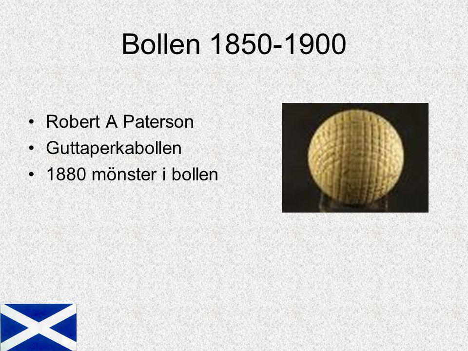 Bollen 1850-1900 Robert A Paterson Guttaperkabollen 1880 mönster i bollen